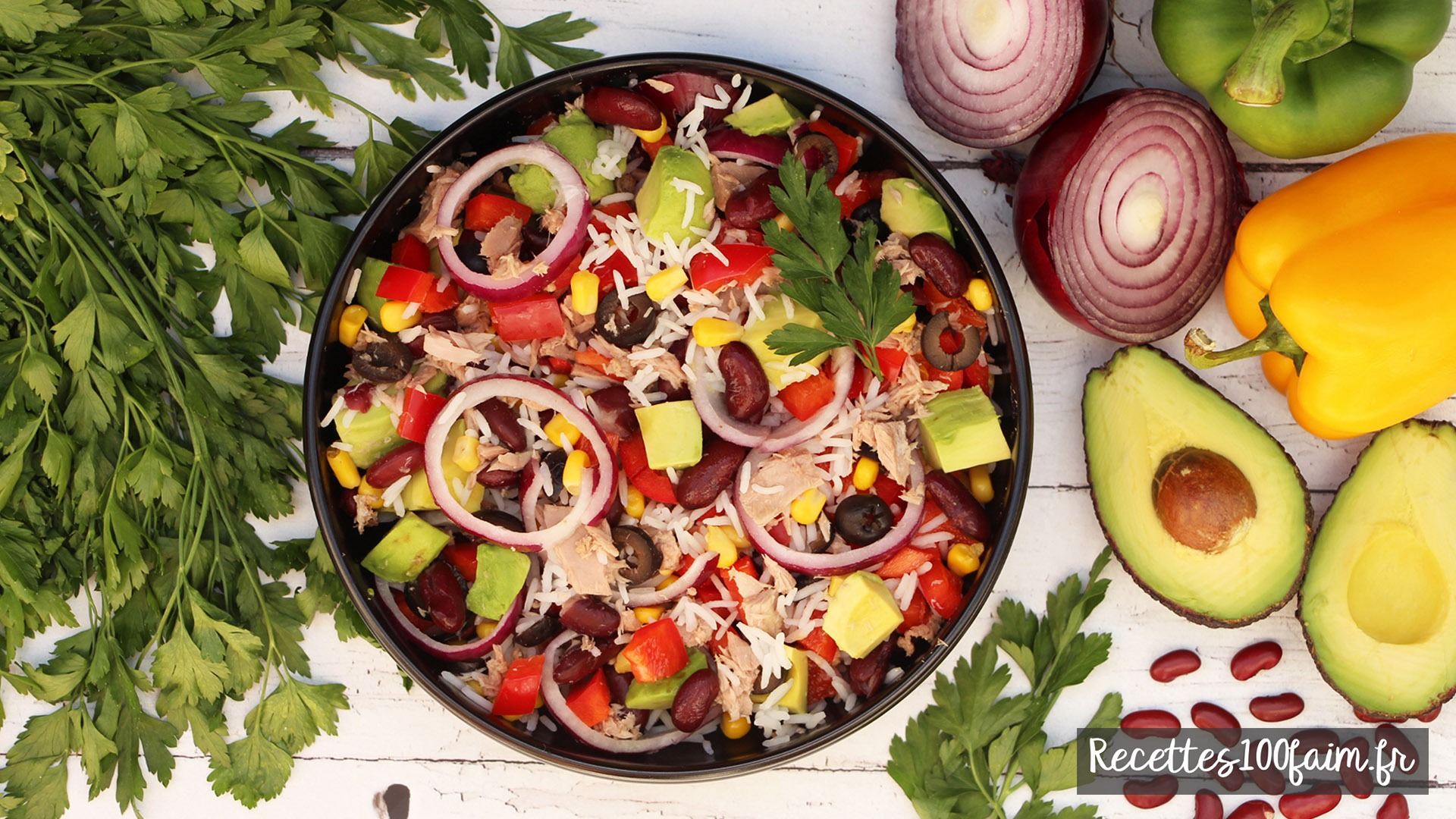 recette salade mexicaine thon