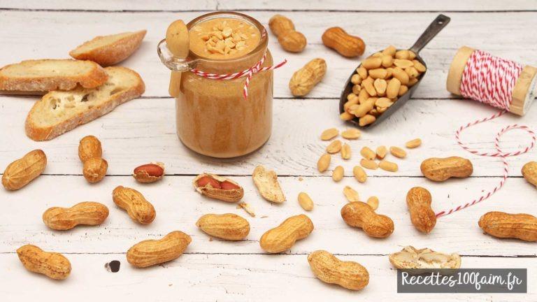 recette beurre de cacahuetes