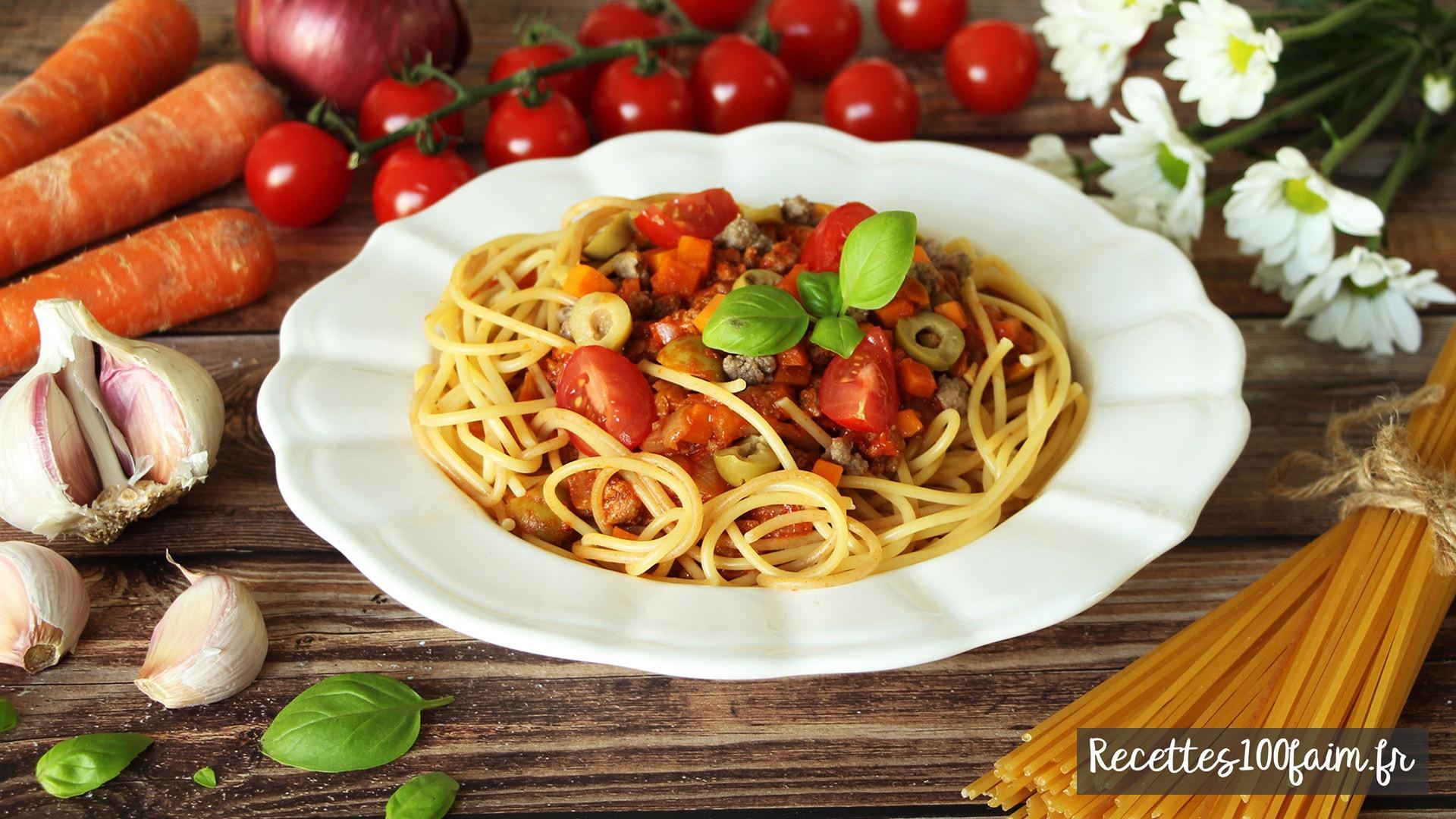sauce bolognaise boeuf