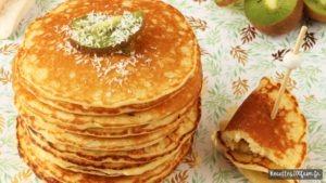 pancakes à la noix de coco