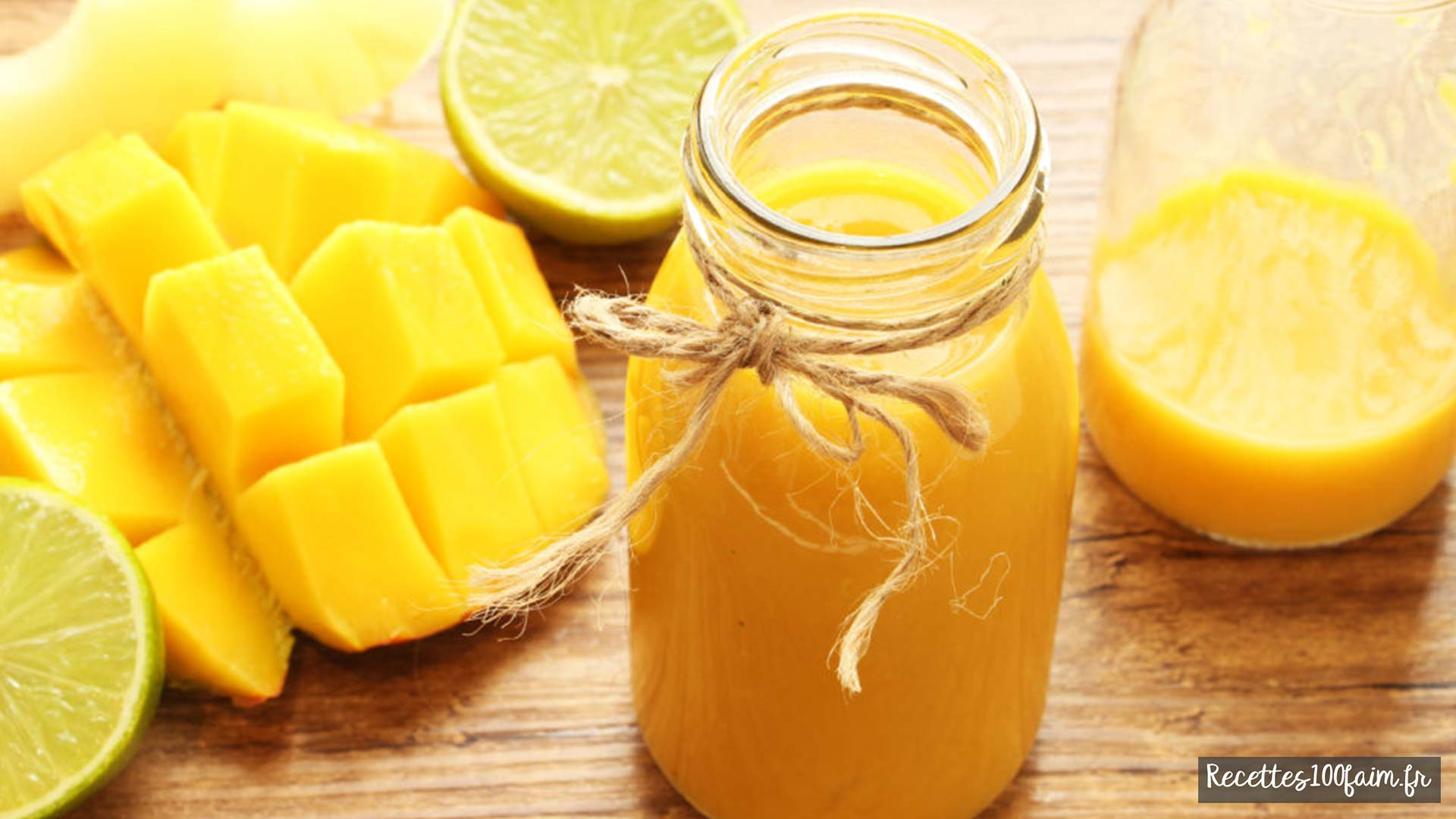 smoothie mangue ananas