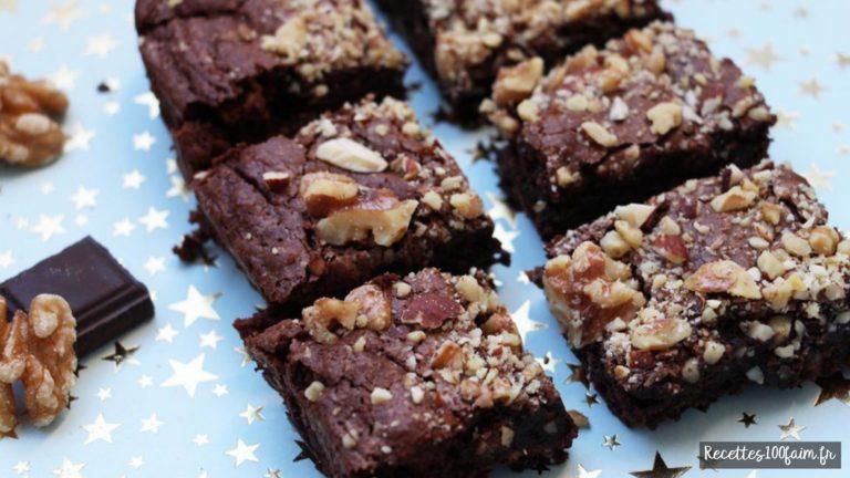 Recette de brownies au chocolat