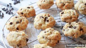 Recette cookies chocolat noir noix