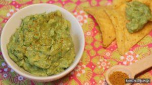 Recette de guacamole au curry