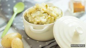 recette de Purée de pommes de terre et chou vert