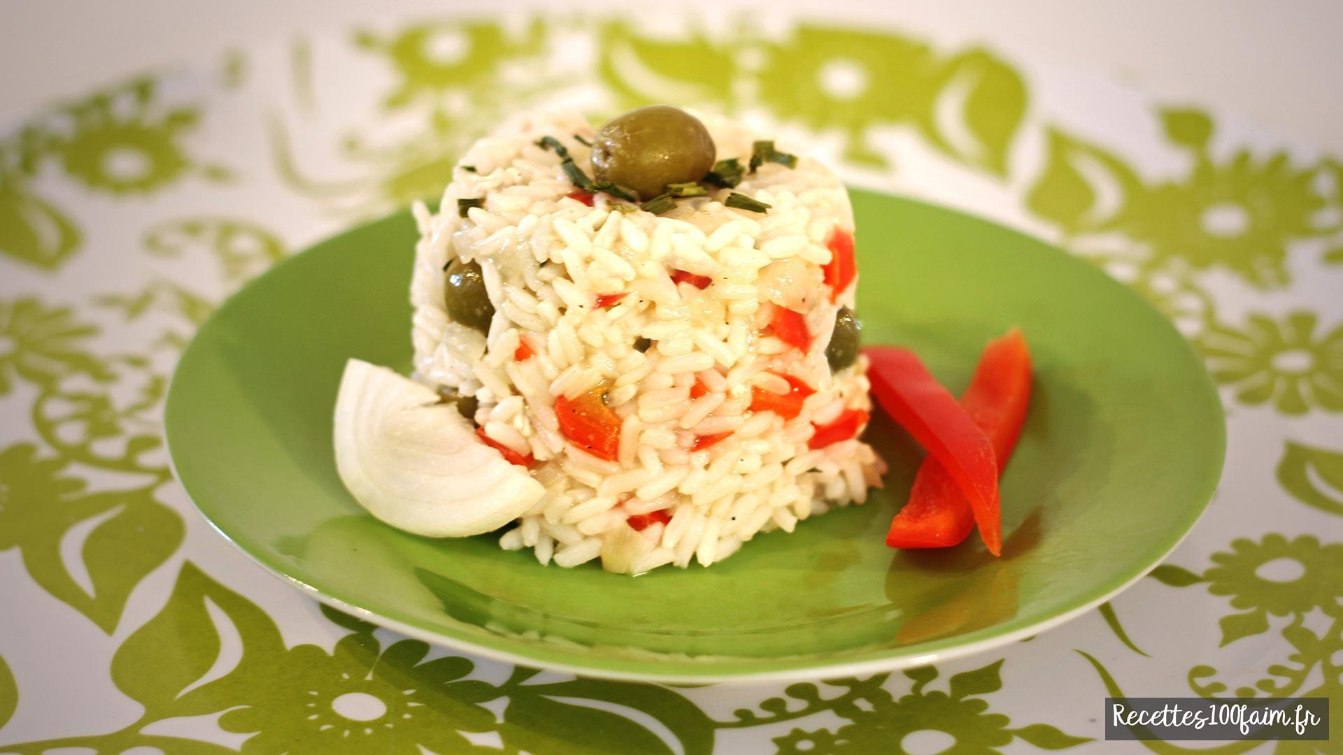 Recette de riz Pilaf au poulet et aux légumes
