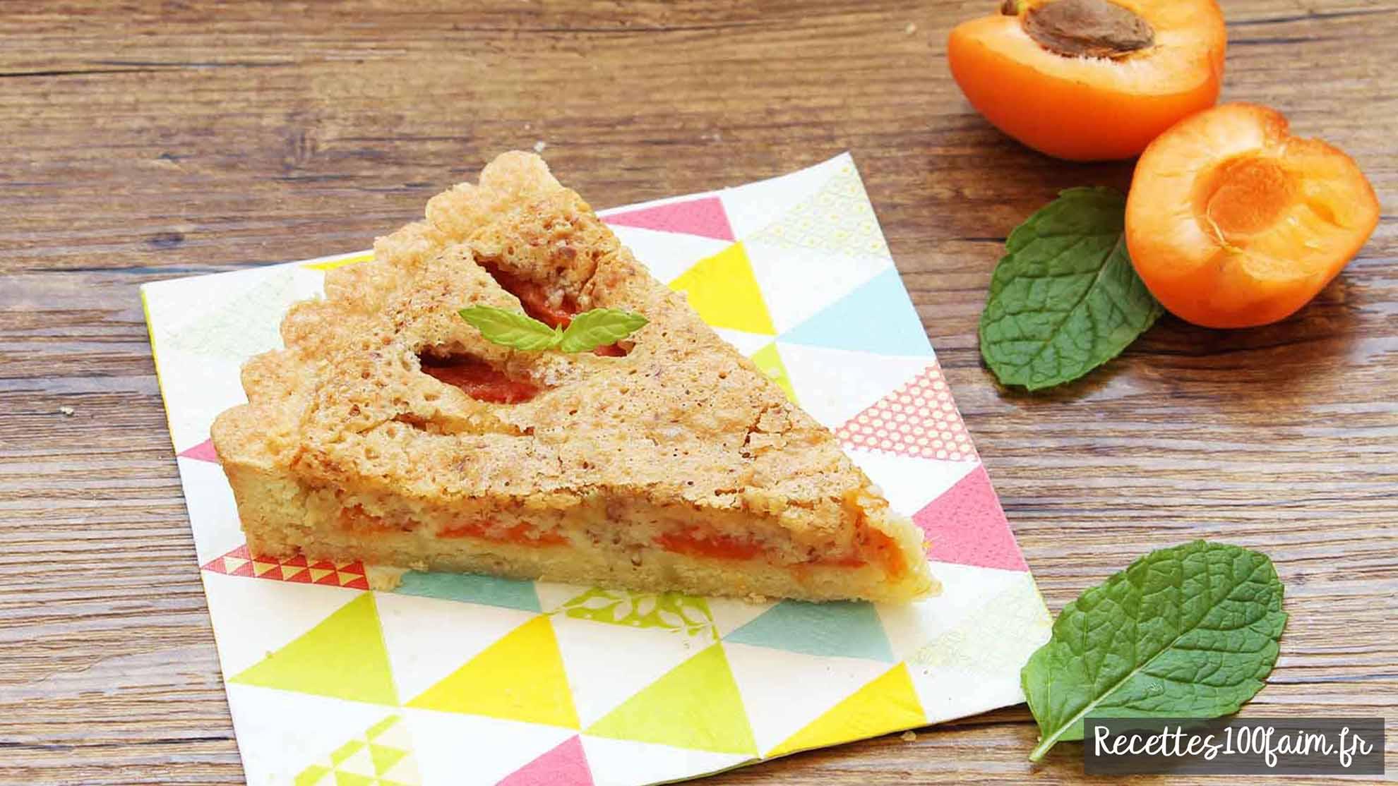 Recette d'amandine aux abricots avec creme d'amande