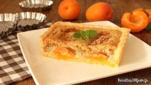 Tarte amandine aux abricots frais