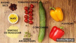 ingredients taboulé facile