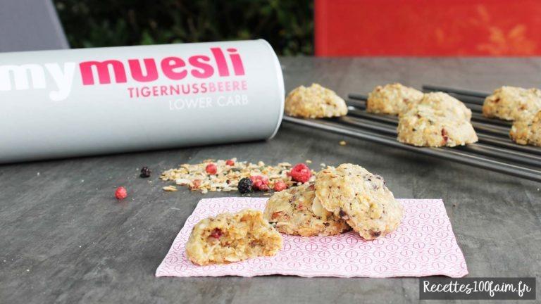 Test my muesli low carb cookies