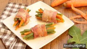 recette fagot haricots verts carottes
