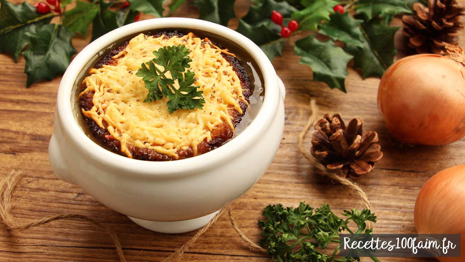 recette soupe a l oignon facile