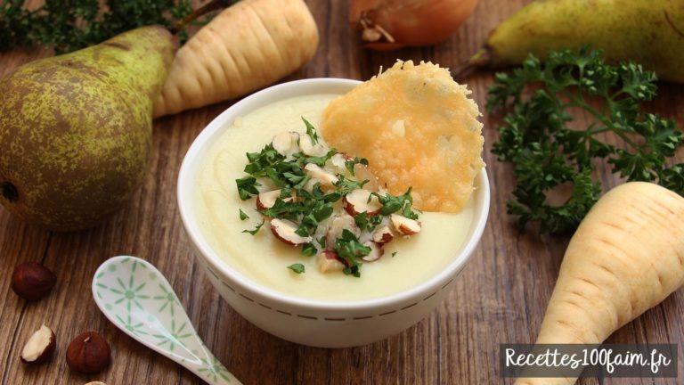soupe originale et facile panais et poire