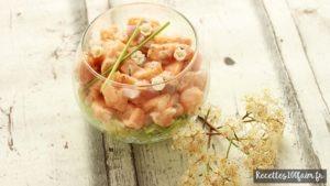 tartare de saumon citron
