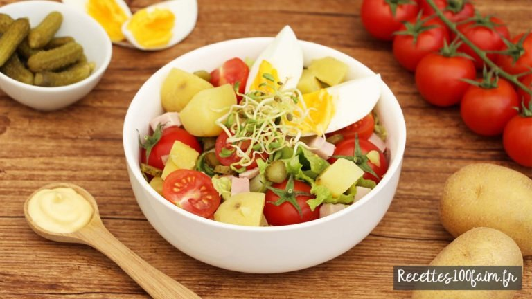 salade piemontaise graines germees