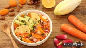 recette salade printemps