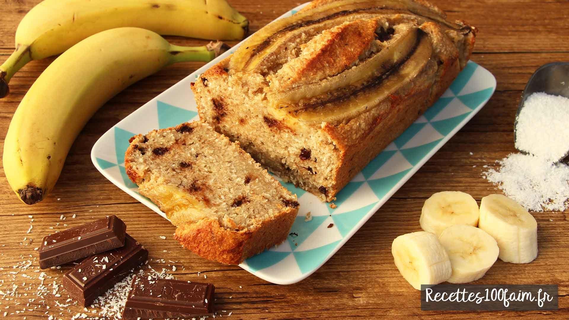 cake a la banane recette