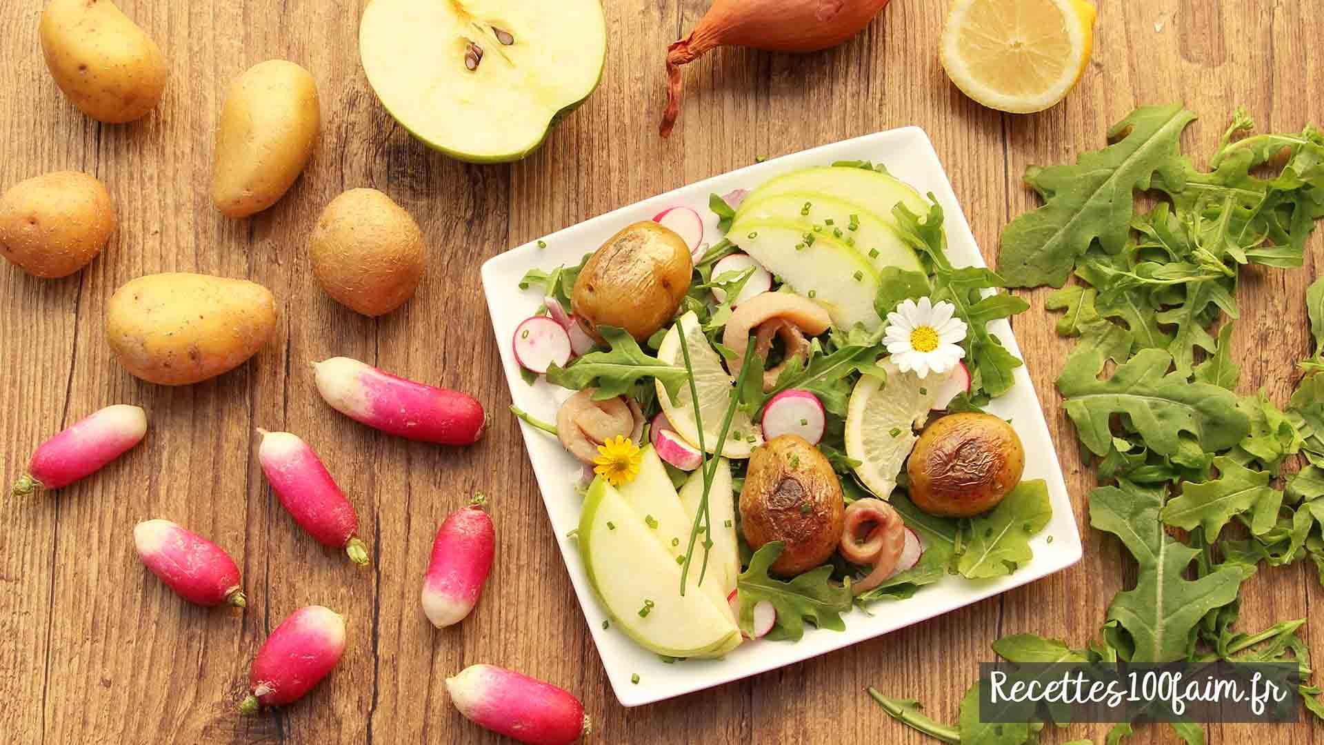 recette salade pomme de terre hareng
