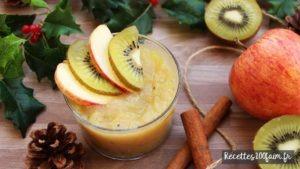 recette compote pomme kiwi