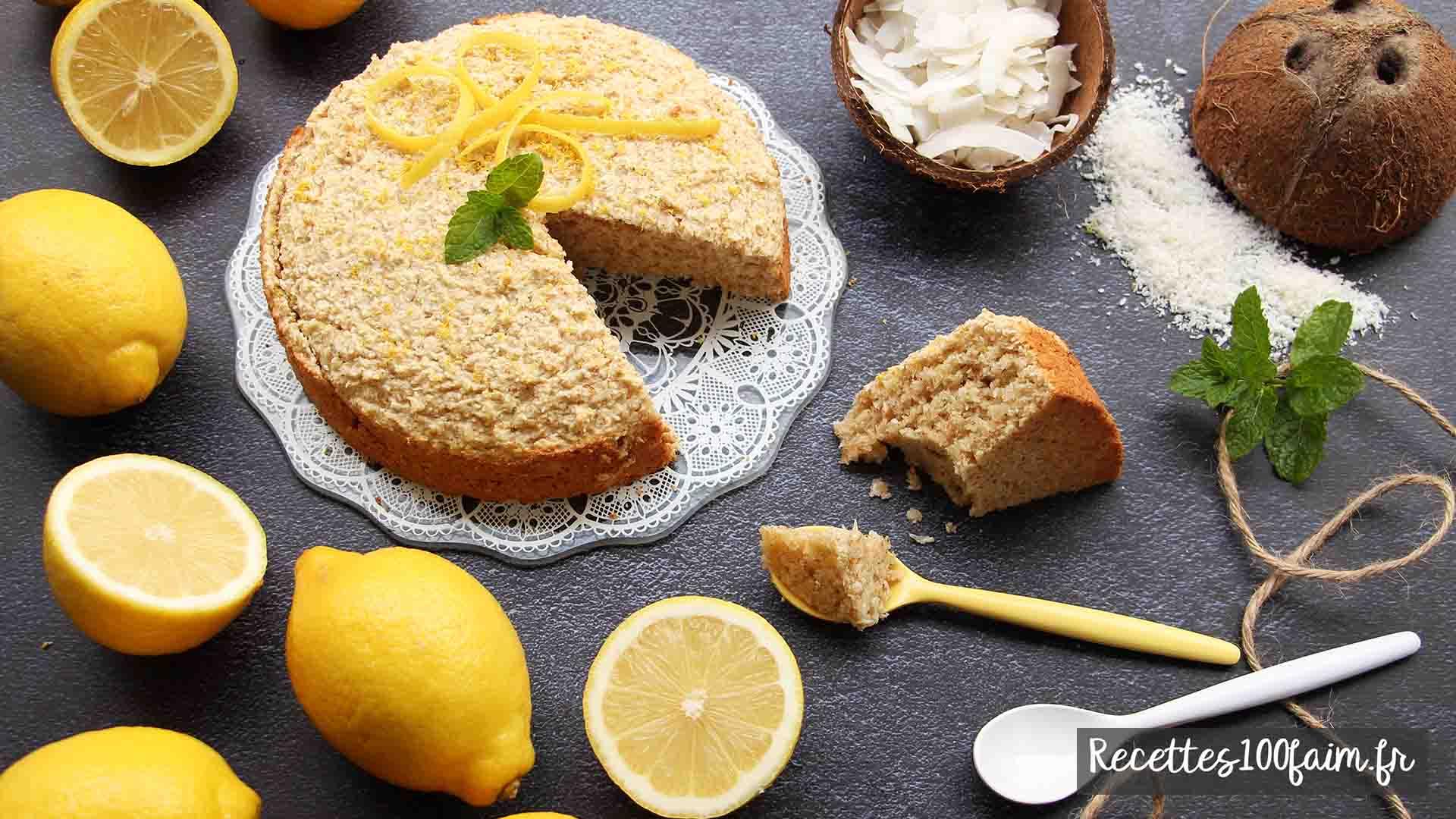recette moelleux coco citron