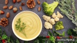 recette soupe chou fleur brocoli