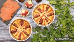 recette tarte saumon figue