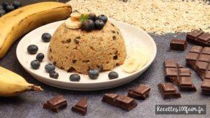 recette bowl cake avine banane choco
