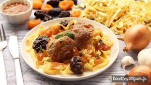 recette filet mignon porc pruneaux abricots secs