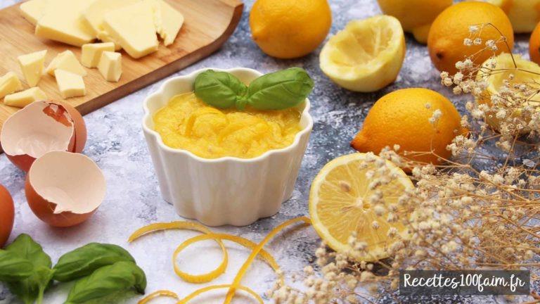 recette lemon curd creme de citron