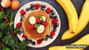 recette pancakes banane