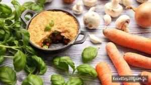 recette parmentier carotte champignon brocoli