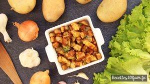 recette pommes de terre sissolees poeles