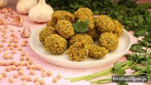 recette falafels pois chiches