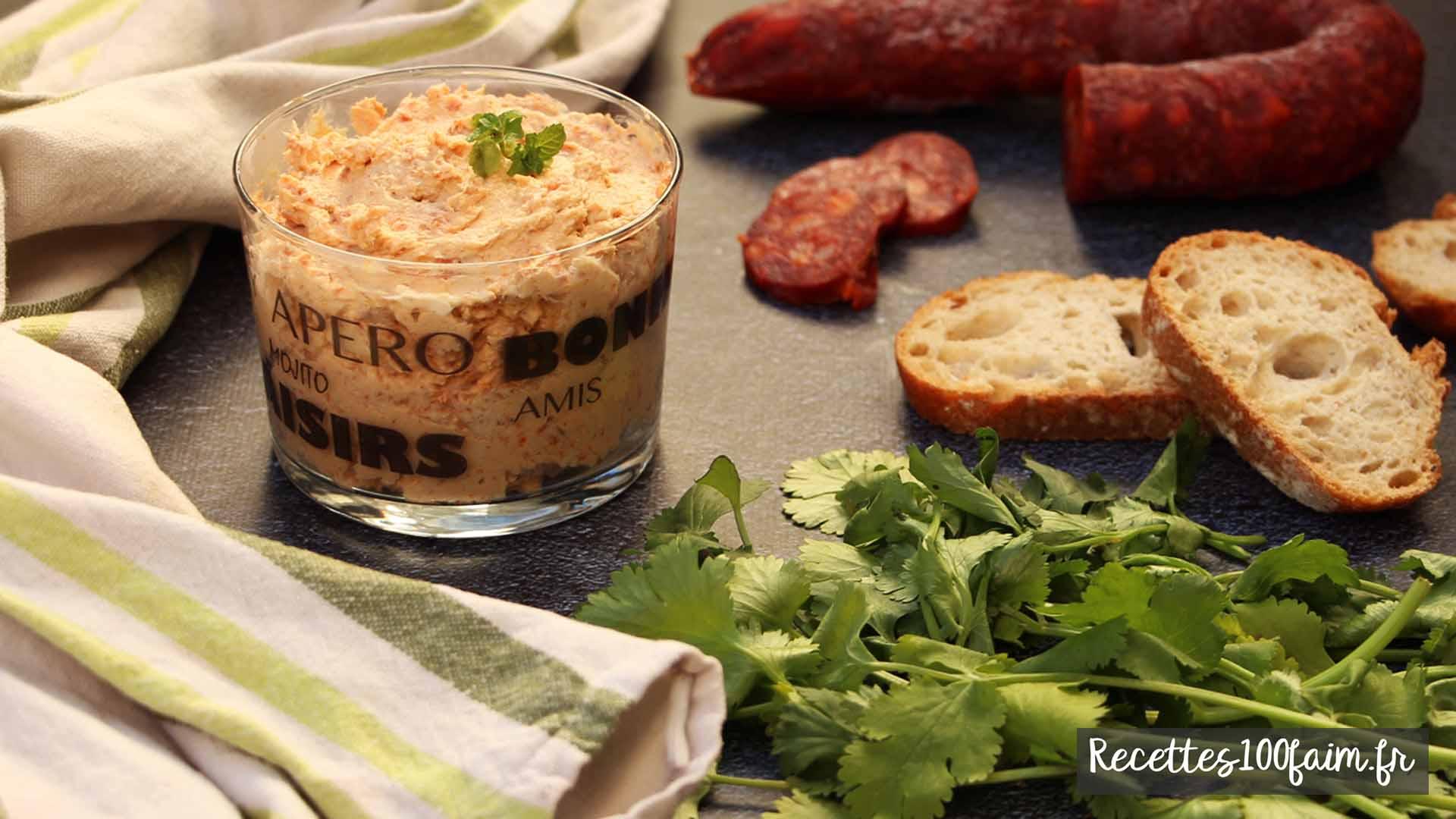 recette rillettes thon chorizo