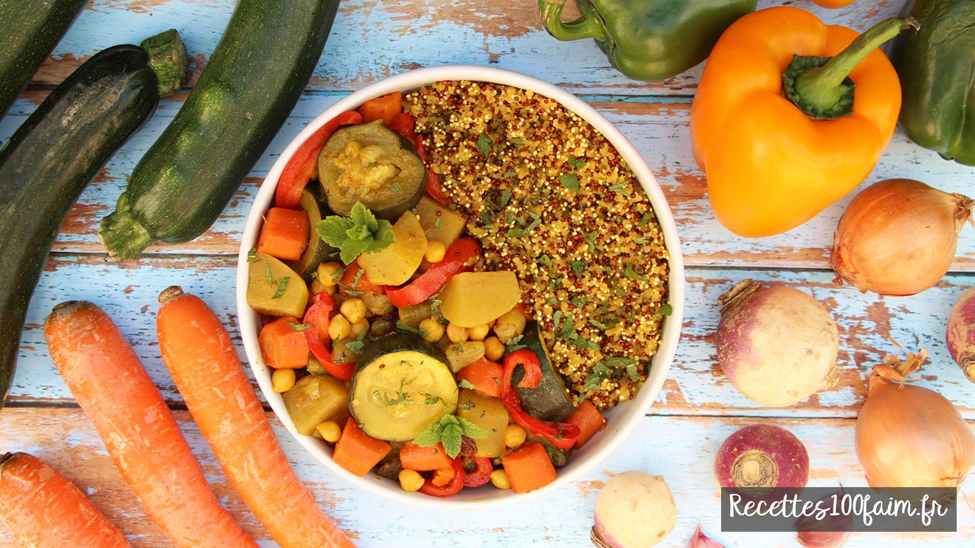 recette couscous vegetarien facile