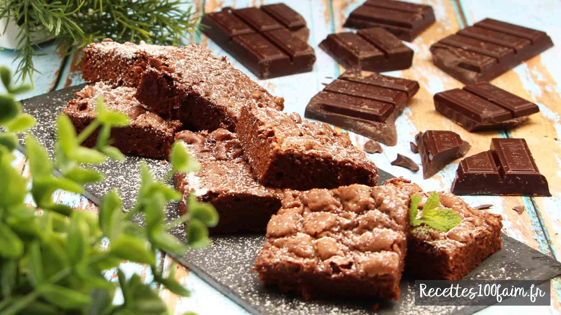 recette fondant au chocolat peu de sucre