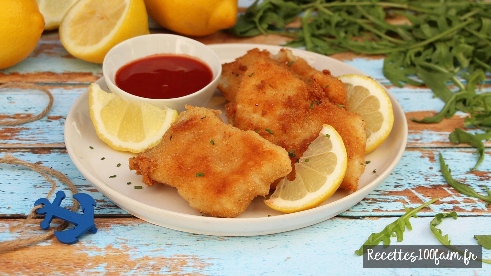 recette poisson pané maison