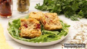 recette polenta tomate sechee olive