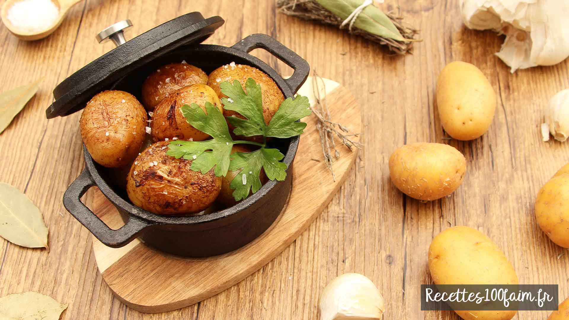 recette pomme de terre grenaille au four