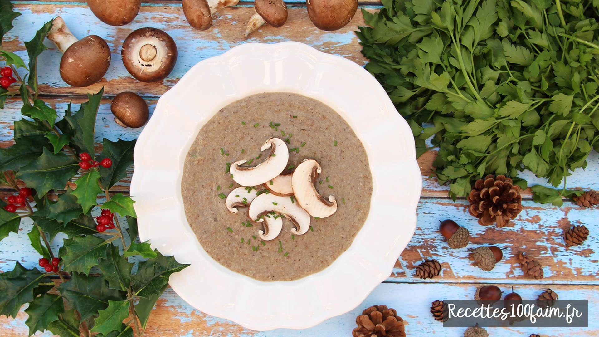 recette veloute champignon