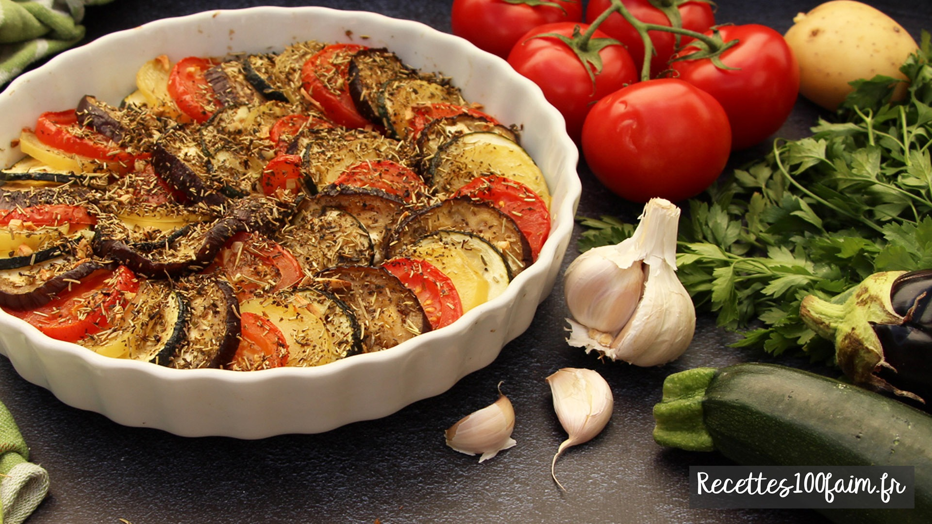 recette tian de legumes