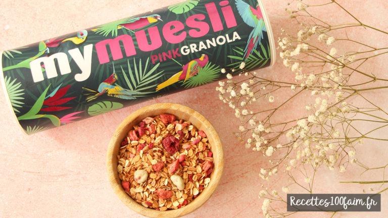 pink granola muesli mymuesli
