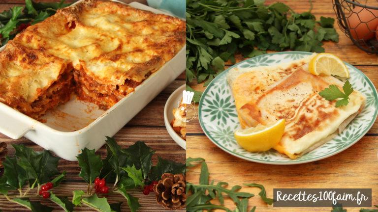 lasagne bolo brick oeuf