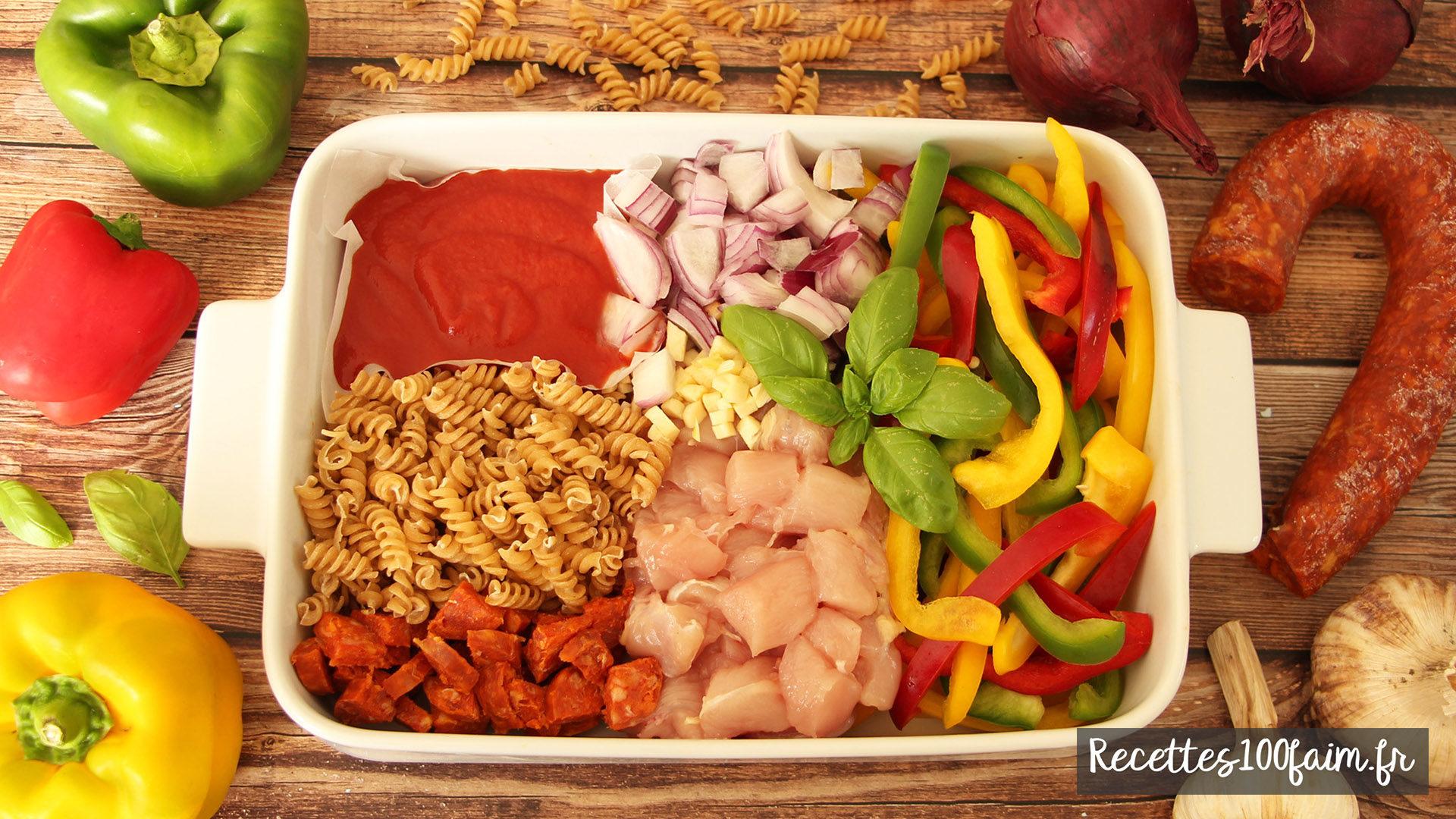 recette one pot pasta poulet