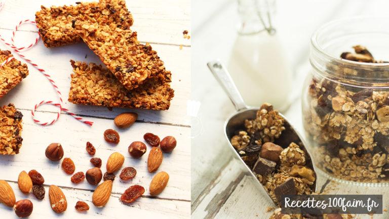 muesli barre de cereales recettes