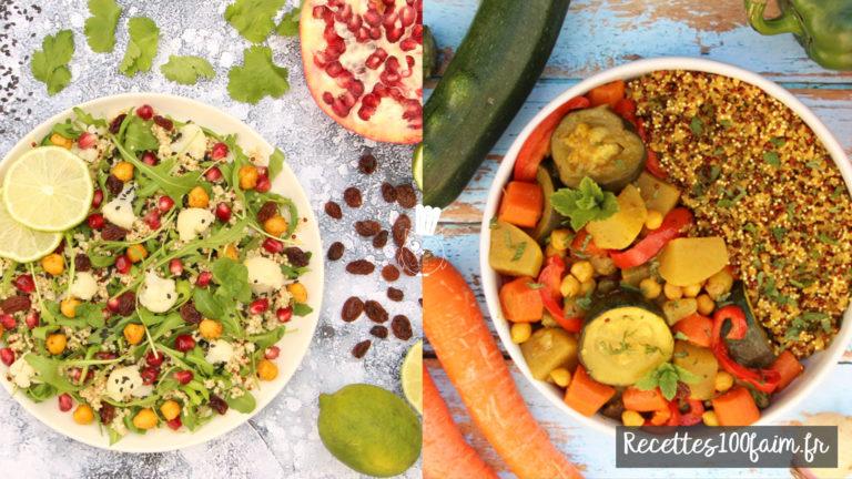recette quinoa gluten