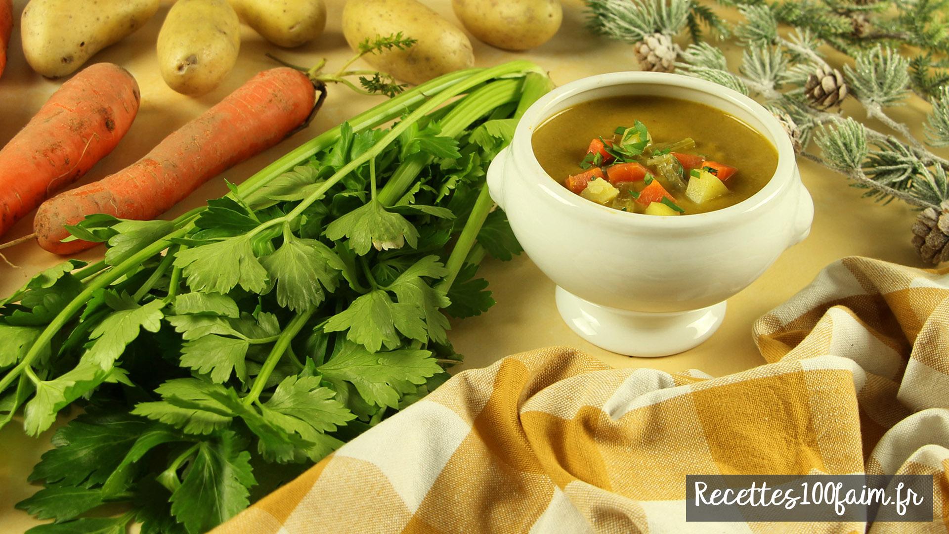 recette soupe celeri carotte patates