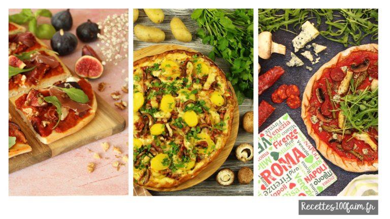 recettes pizzas sante plaisir