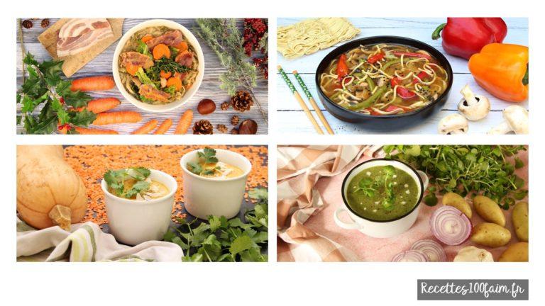 recette soupe savoureuses originales