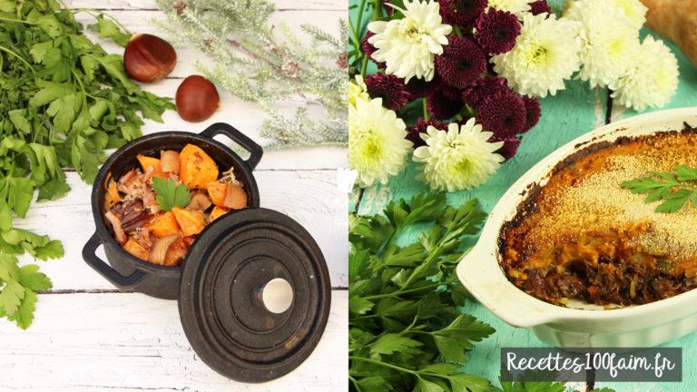 parmentier canard gratin patate douce recette
